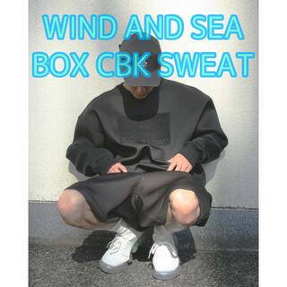 【新品未使用】 WDS BOX CBK SWEAT TOPS S(Tシャツ/カットソー(七分/長袖))