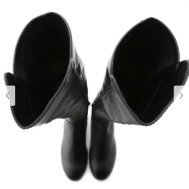 FRAY I.D(フレイアイディー)のFRAYI.D ストレッチ ニーハイブーツ BLACK サイズ36 新品 レディースの靴/シューズ(ブーツ)の商品写真