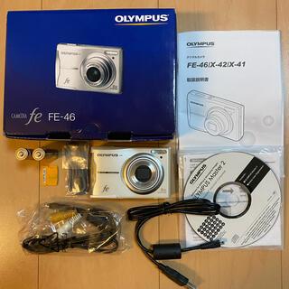 オリンパス(OLYMPUS)の電池式コンパクトデジカメ*オリンパスfe-46*1186万画素(コンパクトデジタルカメラ)