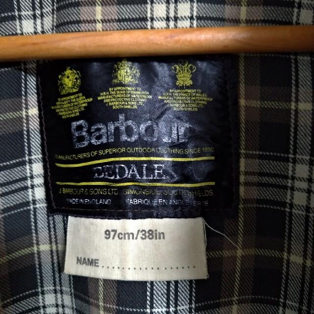 Barbour(バーブァー)の希少 Barbour BEDALE 80s 4フラップ アニ散歩 アニチューブ メンズのジャケット/アウター(その他)の商品写真