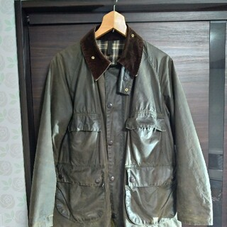 Barbour - 希少 Barbour BEDALE 80s 4フラップ アニ散歩 アニチューブ