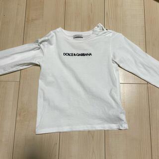 ドルチェアンドガッバーナ(DOLCE&GABBANA)のドルチェ&ガッバーナ ロゴTシャツ ベビー(Tシャツ/カットソー)