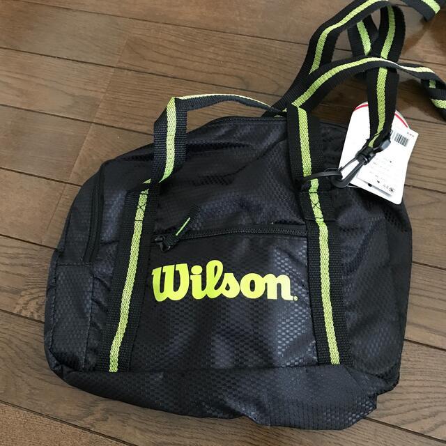 wilson(ウィルソン)のwilson バック 新品未使用 スポーツ/アウトドアのテニス(バッグ)の商品写真