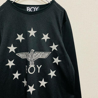 ボーイロンドン(Boy London)の一点物 美品 ボーイ ロンドン デカロゴ ナンバリング ゲームシャツ(Tシャツ/カットソー(七分/長袖))