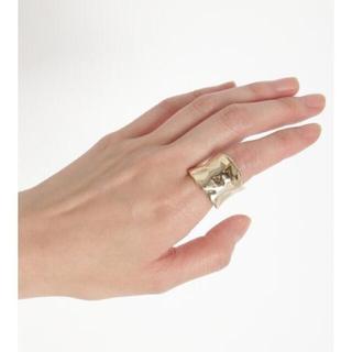 ファーファー(fur fur)のFURFUR ファーファー チャンキーリング  指輪(リング(指輪))