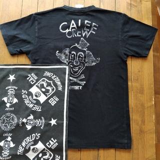 キャリー(CALEE)のCALEE  Tシャツ メンズ Mサイズ バンダナ付(Tシャツ/カットソー(半袖/袖なし))