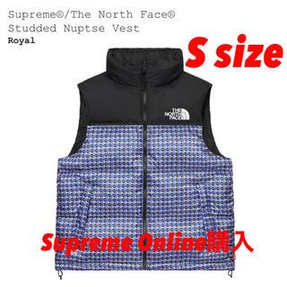 シュプリーム(Supreme)のSupreme/TheNorthFace Studded Nuptse Vest(ダウンベスト)