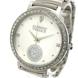 ヴェルサーチ(VERSACE)のヴェルサーチ V813S クオーツ メンズ腕時計 アルフレッド シルバー(腕時計(アナログ))