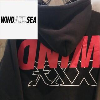 シー(SEA)の【逆さSEA】GOD  SELECTION ×WIND AND SEAパーカー(パーカー)