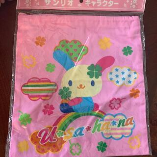 サンリオ(サンリオ)のサンリオ ウサハナ 巾着袋(ランチボックス巾着)