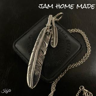 ジャムホームメイドアンドレディメイド(JAM HOME MADE & ready made)の定価3万↑↑★JAM HOME MADE【ジャムホームメイド】ダブルフェザー(ネックレス)