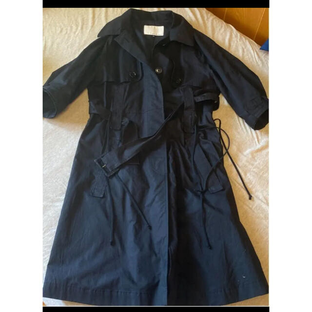 LE CIEL BLEU(ルシェルブルー)の★値下げ★ENCHANTMENT アンシャントマン トレンチコート レディースのジャケット/アウター(トレンチコート)の商品写真