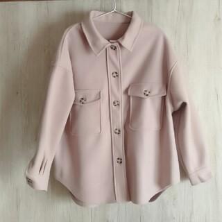 GRL - グレイル オーバサイズジャケットくすみピンク
