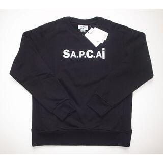 サカイ(sacai)のsacai × APC Tani スウェット sizeM black(スウェット)