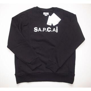 サカイ(sacai)のsacai × APC Tani スウェット sizeL black(スウェット)