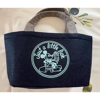 ミッキーマウス(ミッキーマウス)のオールドMickey フェルトランチバッグ(弁当用品)