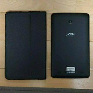エルジーエレクトロニクス(LG Electronics)のさら値下げ JCOM LG Gpad 8インチ タブレットLGT01 カバー付き(タブレット)