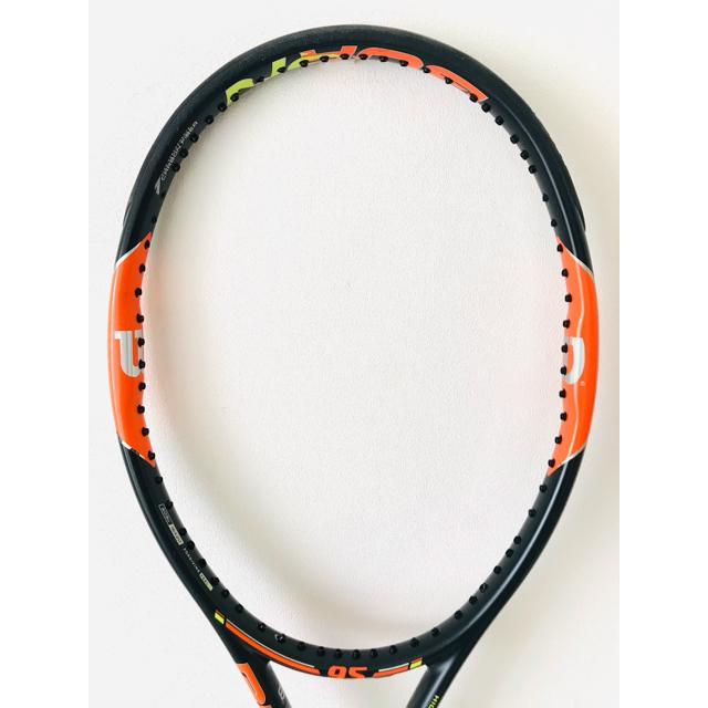wilson(ウィルソン)のウィルソン『バーン BURN 95』テニスラケット/Wilson/錦織圭愛用 スポーツ/アウトドアのテニス(ラケット)の商品写真