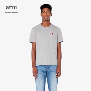 アミウ(AMIW)の新品 AMI ALEXANDRE MATTIUSSI 男女兼用半袖 Tシャツ M(Tシャツ/カットソー(半袖/袖なし))