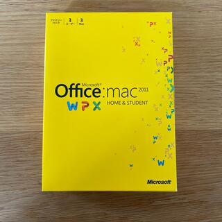 マイクロソフト(Microsoft)のMicrosoft Office mac 2011 HOME & STUDENT(PCパーツ)
