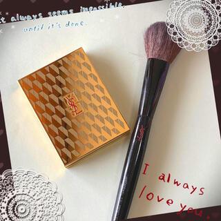 Yves Saint Laurent Beaute - ☆美品☆イヴサンローラン フェイスパウダー&ブラシセット