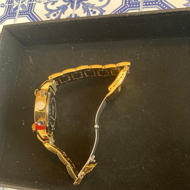 AVALANCHE(アヴァランチ)のAQUA MASTER ダイヤモンドウォッチ 0.20 ct イエローゴールド メンズの時計(腕時計(アナログ))の商品写真