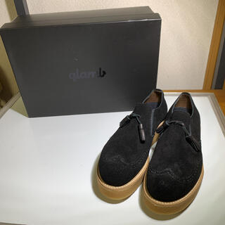 グラム(glamb)の定価3.4万 新品 glam グラム ドレスシューズ   ローファー サイズL(ローファー/革靴)