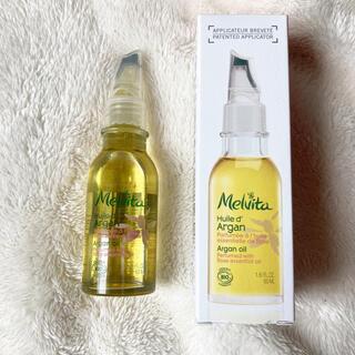 メルヴィータ(Melvita)の美品!資生堂 メルヴィータ ビオオイル アルガンオイル 50ml(フェイスオイル/バーム)