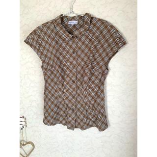 agnes b. - アニエスベー  チェック半袖シャツ