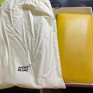 モンブラン(MONTBLANC)の【値下げ】MONT BLANC 長財布 黄色(長財布)
