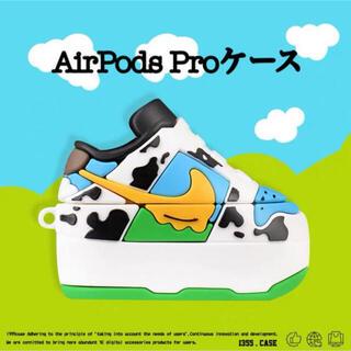 AirPods Proケース Pスニーカー型 ベン&ジェリーズ カラビナ付き(モバイルケース/カバー)