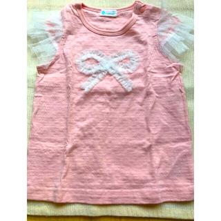 コンビミニ(Combi mini)のコンビミニ*リボンカットソー(Tシャツ/カットソー)