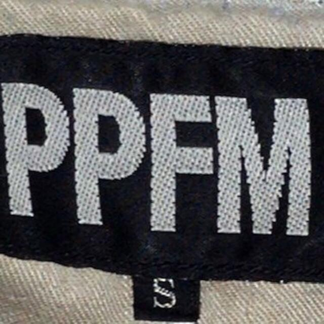 PPFM(ピーピーエフエム)のピーピーエフエム◆S◆ウエスト約74cm◆サスペンダー◆シンチダブルウエスト メンズのパンツ(デニム/ジーンズ)の商品写真