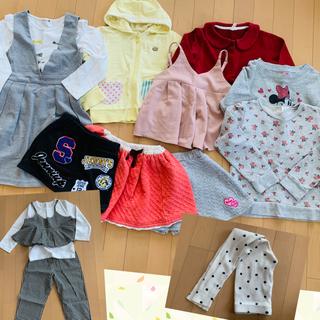 Branshes - 110センチ 女の子 春服まとめ売り③ 10枚+1枚+1セット