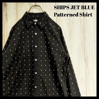 シップスジェットブルー(SHIPS JET BLUE)のシップスジェットブルー 刺繍 柄 シャツ(シャツ)