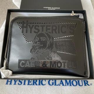 ヒステリックグラマー(HYSTERIC GLAMOUR)のヒステリックグラマー ポーター ウォレット 財布 PORTER (折り財布)