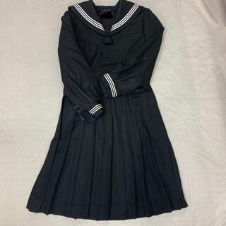 学生服 セーラー服&ひだスカート  Lサイズ セット品(衣装一式)