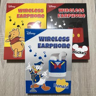 ディズニー(Disney)のBluetoothイヤホン 3種セット(ヘッドフォン/イヤフォン)