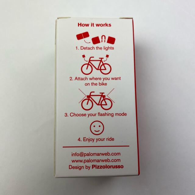 Supreme(シュプリーム)のSupreme Lucetta Magnetic Bike Lights Red スポーツ/アウトドアの自転車(パーツ)の商品写真