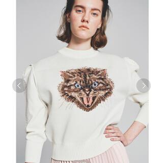 ファーファー(fur fur)のFURFUR トリートキャットセーター(ニット/セーター)