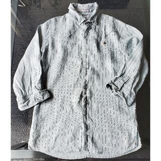 フランシストモークス(FranCisT_MOR.K.S.)のフランシストモークス シャツ 七分袖 グリーン(Tシャツ/カットソー(七分/長袖))