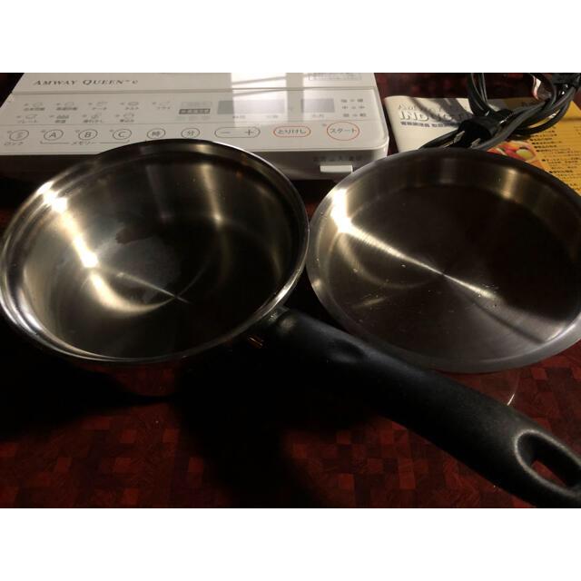 Amway(アムウェイ)のレシピ本付き!アムウェイインダクションレンジと小ソースパン スマホ/家電/カメラの調理家電(調理機器)の商品写真