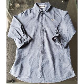 フランシストモークス(FranCisT_MOR.K.S.)のフランシストモークス シャツ 七分袖 ネイビー(Tシャツ/カットソー(七分/長袖))