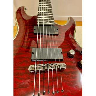 シェクター ギター 7弦(エレキギター)