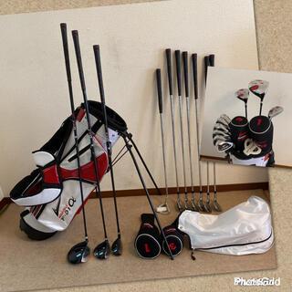 人気‼️【超美品】ゴルフクラブセット/メンズ ゴルフセット/キャディバッグ付き(クラブ)