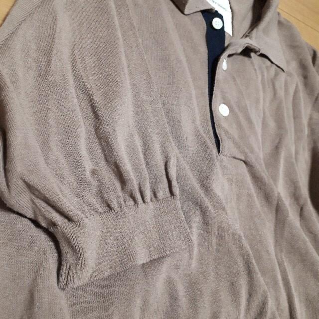 steven alan(スティーブンアラン)のSTILL BY HAND スティルバイハンド リブ ニット ポロシャツ メンズのトップス(ポロシャツ)の商品写真
