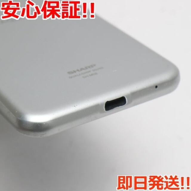 SHARP(シャープ)の美品 SH-M08 AQUOS sense2 ホワイトシルバー  スマホ/家電/カメラのスマートフォン/携帯電話(スマートフォン本体)の商品写真
