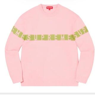 シュプリーム(Supreme)のSupreme Inside Out Logo SweaterPINK Sサイズ(ニット/セーター)