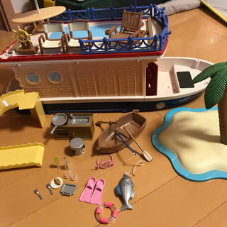 シルバニアファミリー 船(その他)