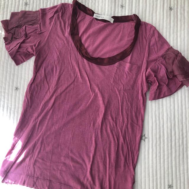 sacai luck(サカイラック)の★値下げしました❗️sacai luck/サカイラック ピンクTシャツ レディースのトップス(Tシャツ(半袖/袖なし))の商品写真